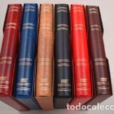 Coleccionismo Cromos antiguos: ALBUM NEUTRO/SIN TITULO. 27X33CM.4 ANILLAS LUXE.SURTIDO COLORES.. Lote 213144842