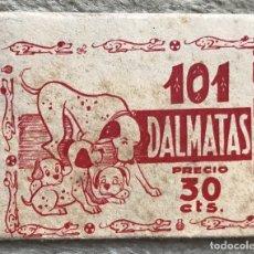 Coleccionismo Cromos antiguos: SOBRE DE CROMOS ÁLBUM 101 DÁLMATAS - FHER - AÑOS 60. Lote 181937106