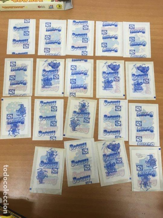 LOTE 19 SOBRES CERRADOS CON PREMIUN PEGATINA BOOMY DE HELADOS FRIGO (Coleccionismo - Cromos y Álbumes - Cromos Antiguos)