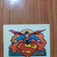 Coleccionismo Cromos antiguos: CROMO PASTELITOS ZIBALI SUPERMAN. Lote 182031202