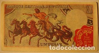 Coleccionismo Cromos antiguos: CROMOS ALBUM TELE BANCO CANCION DE ESTE 1 DINAR TUNEZ (RECUPERADO) - Foto 2 - 182643060