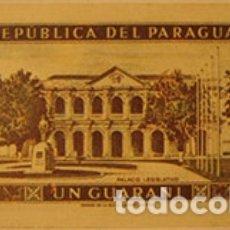Coleccionismo Cromos antiguos: CROMOS ALBUM TELE BANCO CANCION DE ESTE 1 GUARANI PARAGUAY (RECUPERADO). Lote 182643211