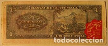 CROMOS ALBUM TELE BANCO CANCION DE ESTE 1 QUETZAL GUATEMALA (RECUPERADO) (Coleccionismo - Cromos y Álbumes - Cromos Antiguos)