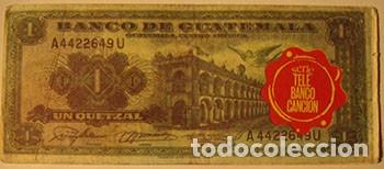 Coleccionismo Cromos antiguos: CROMOS ALBUM TELE BANCO CANCION DE ESTE 1 QUETZAL GUATEMALA (RECUPERADO) - Foto 2 - 182643251