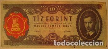 CROMOS ALBUM TELE BANCO CANCION DE ESTE 10 FLORINT HUNGRIA (RECUPERADO) (Coleccionismo - Cromos y Álbumes - Cromos Antiguos)