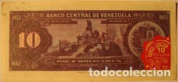Coleccionismo Cromos antiguos: CROMOS ALBUM TELE BANCO CANCION DE ESTE 10 BOLIVARES VENEZUELA (RECUPERADO) - Foto 2 - 182643338