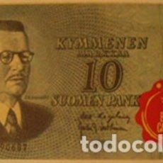 Coleccionismo Cromos antiguos: CROMOS ALBUM TELE BANCO CANCION DE ESTE 10 MARCOS FINLANDIA (RECUPERADO). Lote 182644130