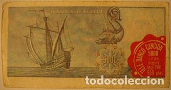 Coleccionismo Cromos antiguos: CROMOS ALBUM TELE BANCO CANCION DE ESTE 5000 LIRAS ITALIA (RECUPERADO) - Foto 2 - 182644210