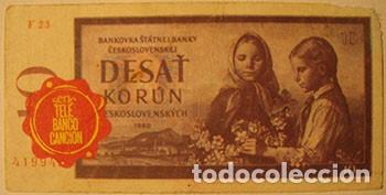 CROMOS ALBUM TELE BANCO CANCION DE ESTE 10 CORONAS CHECOSLOVAQUIA (RECUPERADO) (Coleccionismo - Cromos y Álbumes - Cromos Antiguos)