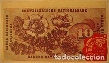 Coleccionismo Cromos antiguos: CROMOS ALBUM TELE BANCO CANCION DE ESTE 10 FRANCOS SUIZA (RECUPERADO) - Foto 2 - 182644417