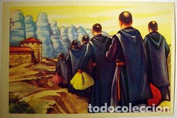 CROMOS ALBUM HISTORIA Y LEYENDAS DE MONTSERRAT DE FRANCISCO S. ORTEGA NUMERO 40 (NUEVO) (Coleccionismo - Cromos y Álbumes - Cromos Antiguos)