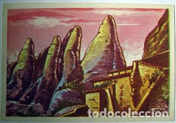 CROMOS ALBUM HISTORIA Y LEYENDAS DE MONTSERRAT DE FRANCISCO S. ORTEGA NUMERO 130 (NUEVO) (Coleccionismo - Cromos y Álbumes - Cromos Antiguos)