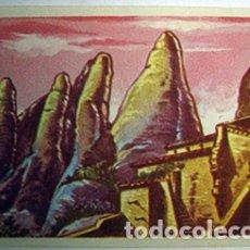 Coleccionismo Cromos antiguos: CROMOS ALBUM HISTORIA Y LEYENDAS DE MONTSERRAT DE FRANCISCO S. ORTEGA NUMERO 130 (NUEVO). Lote 182651921
