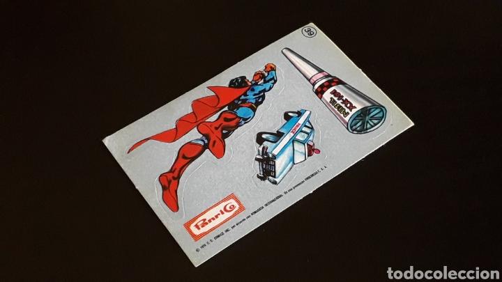 CROMO ADHESIVO TROQUELADO Nº 39 ALBUM SUPERMAN EL FILM, PROMOCIÓN PANRICO, ORIGINAL AÑO 1979. (Coleccionismo - Cromos y Álbumes - Cromos Antiguos)
