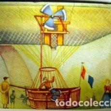 Coleccionismo Cromos antiguos: CROMO ALBUM HISTORIA DEL TRANSPORTE AEREO DE CHOCOLATES SOLSONA NUMERO 4 (NUEVO). Lote 183040235