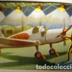 Coleccionismo Cromos antiguos: CROMO ALBUM HISTORIA DEL TRANSPORTE AEREO DE CHOCOLATES SOLSONA NUMERO 35 (NUEVO). Lote 183040283