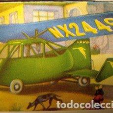 Coleccionismo Cromos antiguos: CROMO ALBUM HISTORIA DEL TRANSPORTE AEREO DE CHOCOLATES SOLSONA NUMERO 71 (NUEVO). Lote 183040350