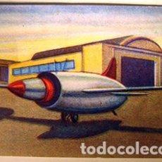 Coleccionismo Cromos antiguos: CROMO ALBUM HISTORIA DEL TRANSPORTE AEREO DE CHOCOLATES SOLSONA NUMERO 132 (NUEVO). Lote 183040535