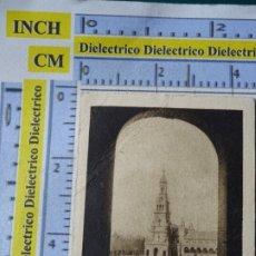 Coleccionismo Cromos antiguos: ANTIGUO CROMO CHOCOLATES COMPAÑÍA COLONIAL A Y E MERIC MADRID EXPOSICIÓN SEVILLA PLAZA ESPAÑA. Lote 183210107