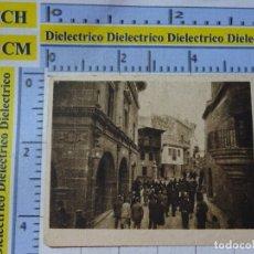 Coleccionismo Cromos antiguos: ANTIGUO CROMO CHOCOLATES COMPAÑÍA COLONIAL A Y E MERIC MADRID PUEBLO ESPAÑOL BARCELONA, CANGAS ONIS. Lote 183210627