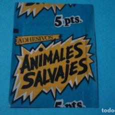 Coleccionismo Cromos antiguos: SOBRE DE CROMOS SIN ABRIR DE ANIMALES SALVAJES DE DIDEC. Lote 183668850