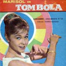 Coleccionismo Cromos antiguos: TOMBOLA ( MARISOL ) FHER CROMOS DESPEGADO A 0,50 UNIDAD EN BUEN ESTADO,LISTA DE CROMOS. Lote 207970351