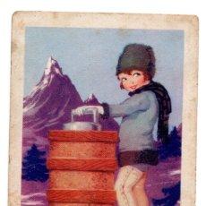 Coleccionismo Cromos antiguos: CROMO - Nº 19 - HELADO DE LIMÓN - COLECCIÓN DE RECETAS - CHOCOLATES AMETLLER - BARGUÑÓ. Lote 183775027