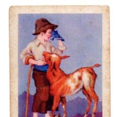 Coleccionismo Cromos antiguos: CROMO - Nº 18 - CABRITO GUISADO - COLECCIÓN DE RECETAS - CHOCOLATES AMETLLER - BARGUÑÓ. Lote 183775403