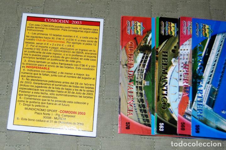 Coleccionismo Cromos antiguos: COLECCIÓN INCOMPLETA DE CROMOS DE FÚTBOL LPF LIGA 2003, COMPUESTA POR 347 DIFERENTES - Foto 11 - 184052546