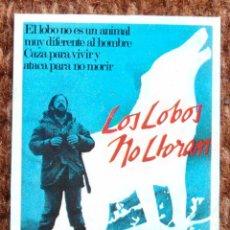 Coleccionismo Cromos antiguos: CROMO SUPER EXITO - LOS LOBOS NO LLORAN - Nº 53. Lote 184094527
