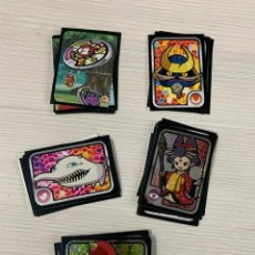 Collectionnisme Cartes à collectionner anciennes: YO-KAI YOKAI WATCH PANINI LOTE 70 CROMOS DIFERENTES SIN PEGAR . Lote 184637850