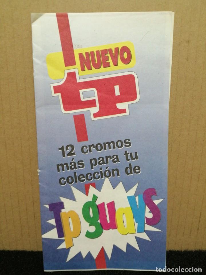 REVISTA TP 12 CROMOS TP GUAYS (Coleccionismo - Cromos y Álbumes - Cromos Antiguos)