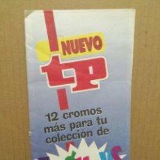 Coleccionismo Cromos antiguos: REVISTA TP 12 CROMOS TP GUAYS. Lote 184879641