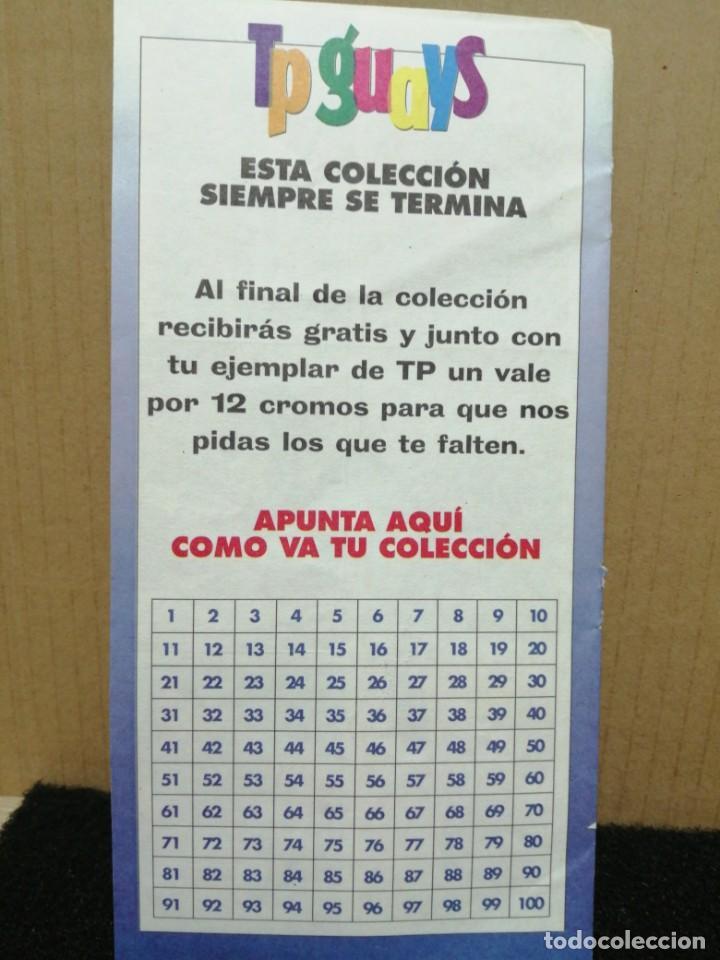 Coleccionismo Cromos antiguos: REVISTA TP 12 CROMOS TP GUAYS - Foto 9 - 184879641