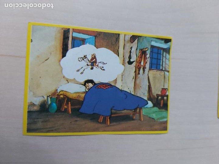 CROMO Nº 55 DEL ALBUM DON QUIJOTE DE LA MANCHA - DANONE - CROMO SIN PEGAR - (Coleccionismo - Cromos y Álbumes - Cromos Antiguos)