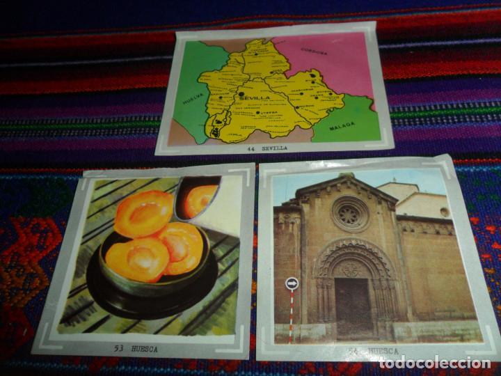 Coleccionismo Cromos antiguos: ÁLBUM DE ESPAÑA EN FOTO-CROMOS A TODO COLOR 37 CROMO NUNCA PEGADO, 3 RECUPERADOS. AMPLIADO 24-9-20. - Foto 5 - 148937590