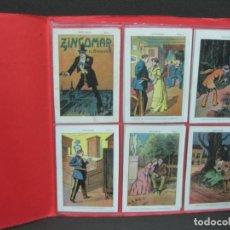 Coleccionismo Cromos antiguos: HAZAÑAS DE ZINGOMAR EL BANDIDO. COLECCION COMPLETA DE 10 CROMOS.. VER FOTOS ADICIONALES... . Lote 187100132