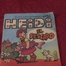 Coleccionismo Cromos antiguos: PHOSKITOS - CUENTOS DE HEIDI - Nº32 - EL PESCADO - AÑO 1975 - PROMOCIONAL. Lote 187461153