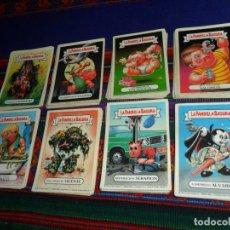 Coleccionismo Cromos antiguos: LA PANDILLA BASURA ÁLBUM AMARILLO 109 CROMO NUNCA PEGADO. J. MERCHANTE 1988. RAROS. MIRA LISTA.. Lote 187496476