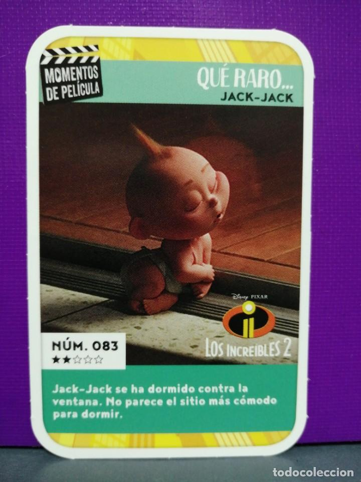 CARREFOUR NÚMERO 83 MOMENTOS DE PELÍCULA DISNEY 2019 (Coleccionismo - Cromos y Álbumes - Cromos Antiguos)