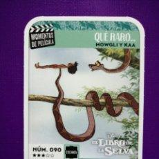 Coleccionismo Cromos antiguos: CARREFOUR NÚMERO 90 MOMENTOS DE PELÍCULA DISNEY 2019 . Lote 188843648
