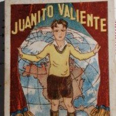 Coleccionismo Cromos antiguos: COLECCION CROMOS JUANITO VALIENTE COMPLETA 25 CROMOS. Lote 189358808