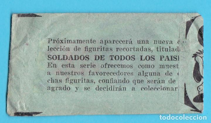 Coleccionismo Cromos antiguos: SOBRE DE CROMOS SIN USAR. SOBRE SORPRESA NIÑOS DE TODOS LOS PAÍSES. - Foto 2 - 190590287