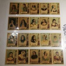 Coleccionismo Cromos antiguos: LOTE DE 615 FOTOTIPIAS. COLECCIONES COMPLETAS. LEER DESCRIPCION. Lote 190606235