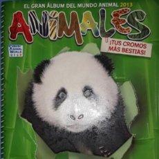 Coleccionismo Cromos antiguos: CROMOS SUELTOS COLECCIÒN ANIMALES 2013 EL GRAN MUNDO ANIMAL PANINI ÁLBUM VERDE PREGUNTE SUS FALTAS!!. Lote 190886321