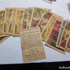 Coleccionismo Cromos antiguos: LOTE 83 CROMOS ANTIGUOS PUBLICIDAD DE CHOCOLATE ALGUNOS RAROS . Lote 191497356