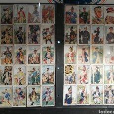Coleccionismo Cromos antiguos: COLECCION DE 160 CROMOS UNIFORMES MILITARES ALEMANES. Lote 191943225