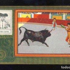 Coleccionismo Cromos antiguos: CROMO DE TOROS: MANUEL GARCIA, ESPARTERO. CHOCOLATE ANGELICAL, SERIE B NUM.26. Lote 192089456