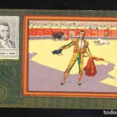 Coleccionismo Cromos antiguos: CROMO DE TOROS: MANUEL DOMINGUEZ Y CAMPOS. CHOCOLATE ANGELICAL, SERIE B NUM.39. Lote 192089572