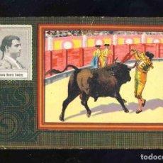Coleccionismo Cromos antiguos: CROMO DE TOROS: ANTONIO REVERTE GIMENEZ. CHOCOLATE ANGELICAL, SERIE B NUM.30. Lote 192089650